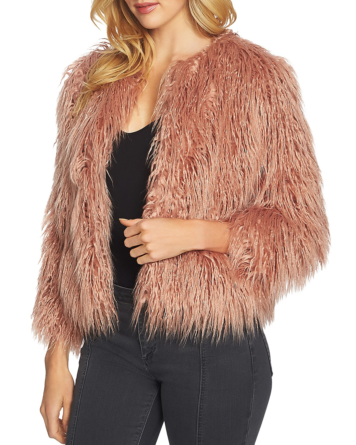 Bloomingdales 1 State Cropped Faux Fur