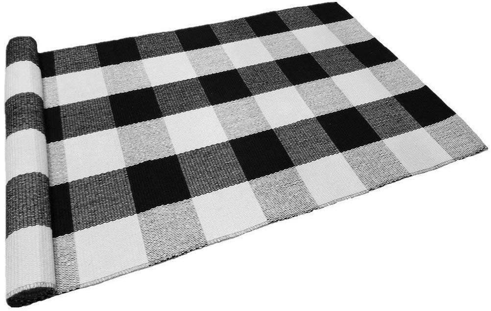 Amazon Plaid Rug
