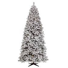 Target 9ft Flocked Christas Tree