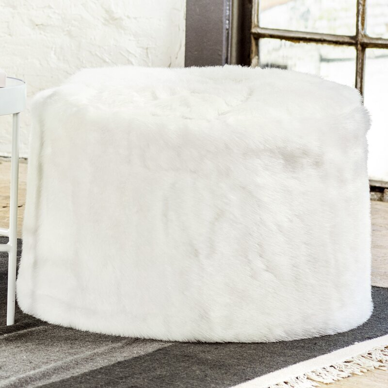 Wayfair Faux Fur Pouf